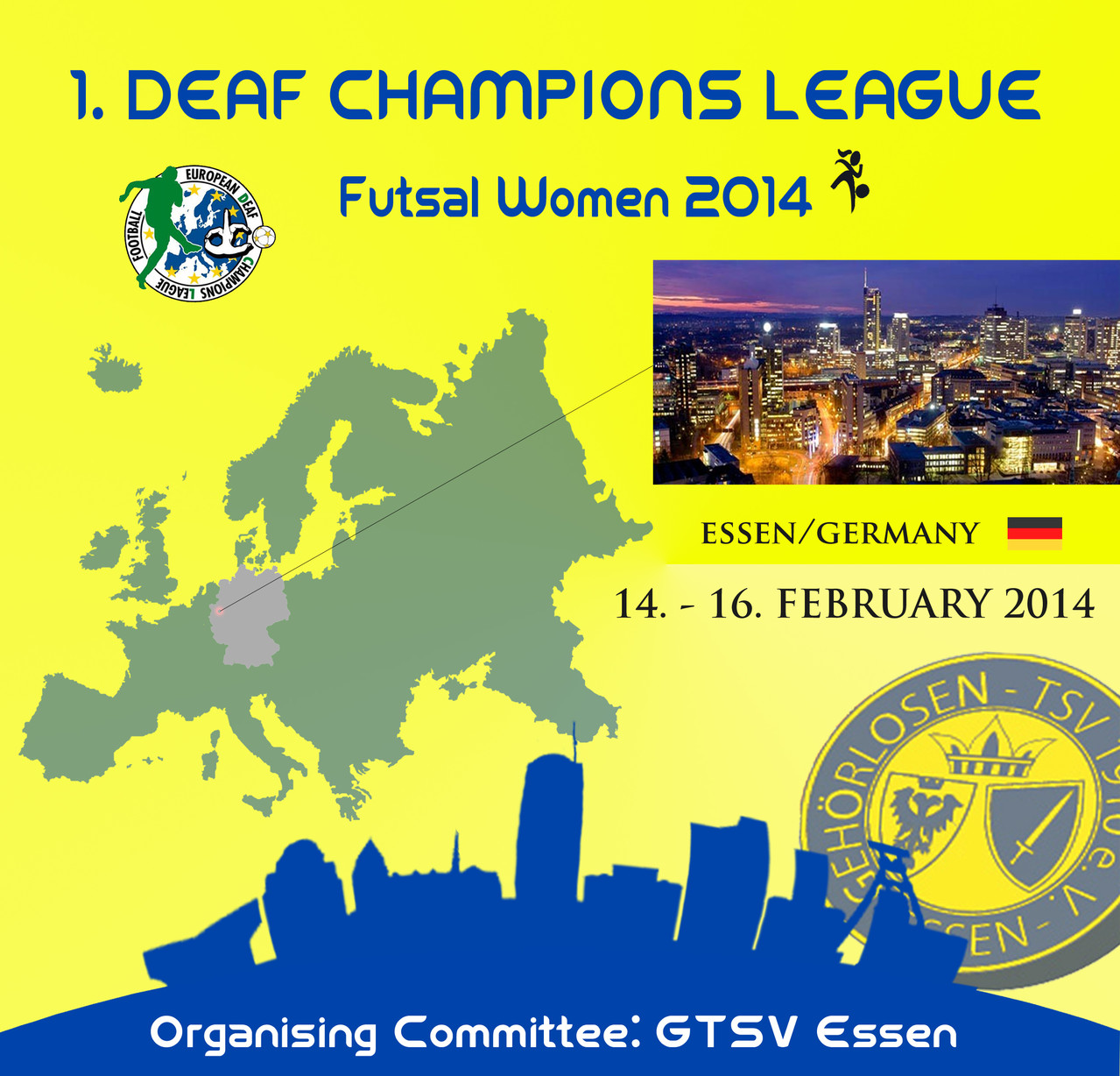 dd0cad29c8 Posters · Reports · Results. DCL IS SUPPORTED BY. Deaf Champions League